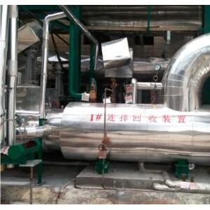 锅炉连排水余热回收系统