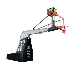 超豪华电动液压篮球架