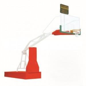 遥控操作电动液压篮球架
