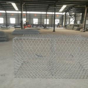 镀锌铁丝石笼网-护坡石笼网多少钱一平米-铅丝石笼网箱价格
