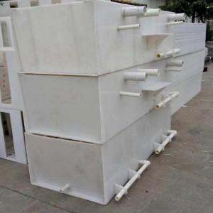 郑州飞沃环保设备pp.pvc焊接制品pp电镀槽非标制作