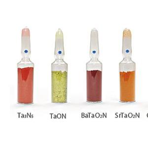 与氢生产相关的各种吸光半导体材料
