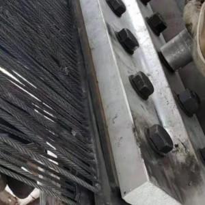斗提机钢丝绳输送带   耐磨钢丝绳输送带