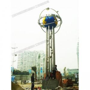 华阳雕塑 重庆园区雕塑制作 贵州不锈钢雕塑 四川景观雕塑公司